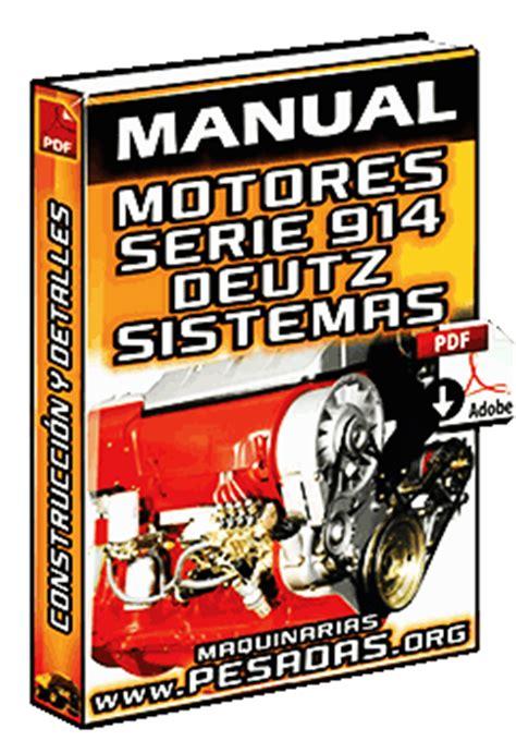 manual de motores  deutz sistemas de lubricacion
