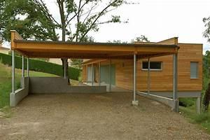 Aide Pour Construire Une Maison : maison bois abris voiture c a u e actualites ~ Premium-room.com Idées de Décoration