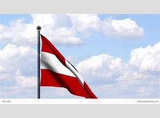 Animated Flag Of Austria Österreich Stock Animation