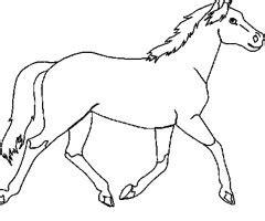 coloriage chevaux sauvages en ligne gratuit dessin
