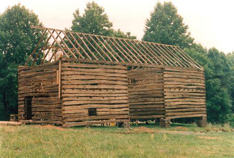 A Double Pen Log Barn... Part 10