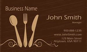 Restaurant business card templates free shipping for Restaurant business cards templates free