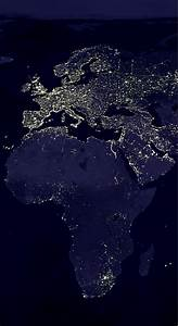 NASA Earth at Night - Pics about space