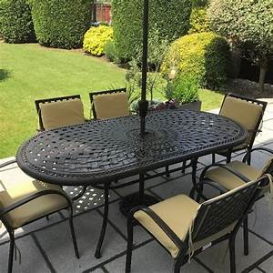 best table de jardin metal ovale contemporary awesome With table de jardin aluminium leroy merlin 1 table de jardin romantique ronde gris graphithe 4