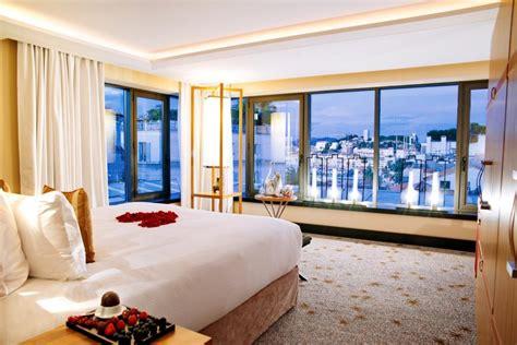 cuisine des cinq sens hotel 5 étoiles cannes hôtels de luxe palaces plage privée