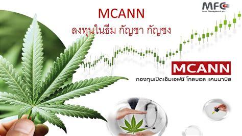 (ลงทุนในธีม กัญชา กัญชง) MCANN กองทุนเปิดเอ็มเอฟซี โกลบอล ...