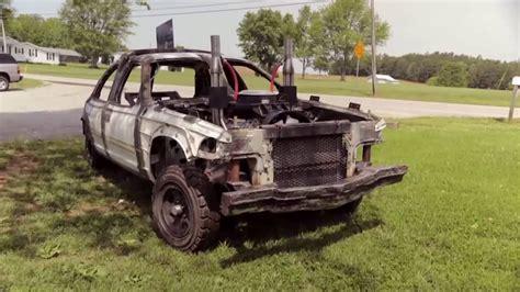 Logan Duvall's Demolition Derby Car