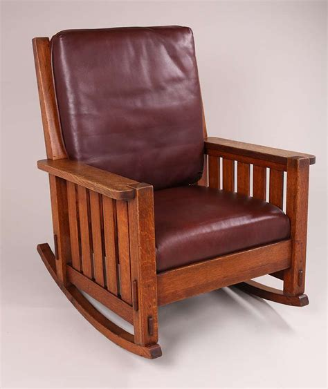 charles stickley massive rocker california historical design