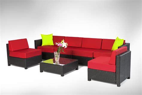 wicker sectional sofa indoor mcombo 7 pcs black wicker patio sectional indoor sofa