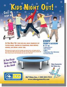Kids Night Out — Ad - Highmark Designs