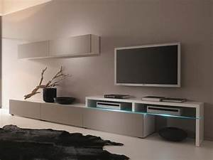 Möbel Mahler Wohnzimmer : creative furniture amsterdam cs 11101 wall unit material mdf melamine tempered glass led ~ Indierocktalk.com Haus und Dekorationen