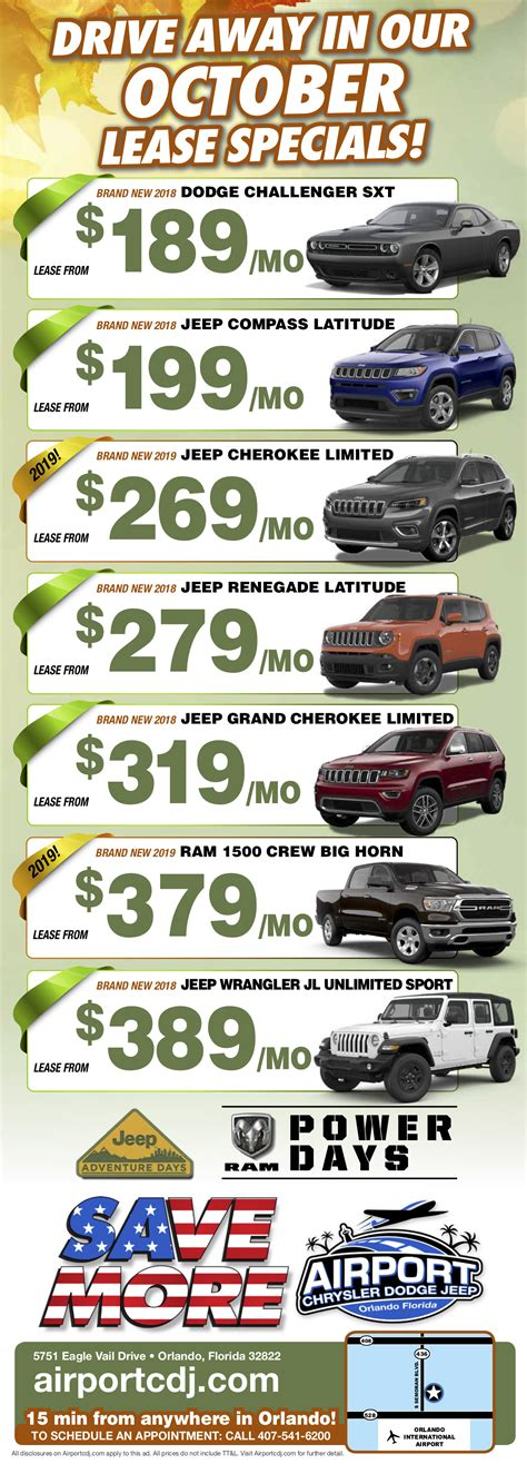 Chrysler Dodge Jeep Orlando Airport by Airport Dealership Serving Orlando Airport Chrysler