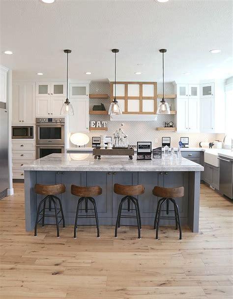 hardwood flooring in the kitchen best 25 modern farmhouse interiors ideas on 7010