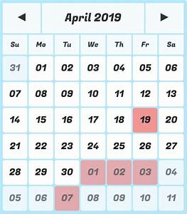 Calendar Grid Calendar Grid Pro Calendar Generator Date Picker Date