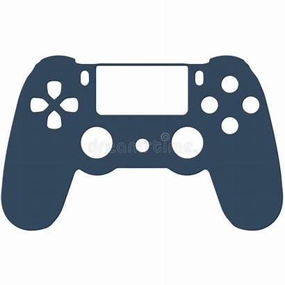 Controller Ps4 Clipart Playstation Gaming Videogame Drawing
