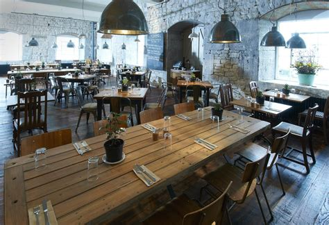 Cottage Style Restaurants by Rustic Industrial Restaurant Search Things