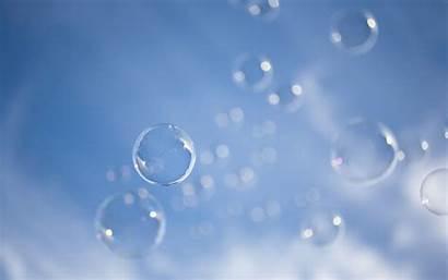 Bubbles Soap Background Sky Wallpapers Float Hqwalls
