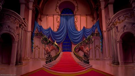 Disney Photo Backdrop by Empty Backdrop From And The Beast Disney Crossover