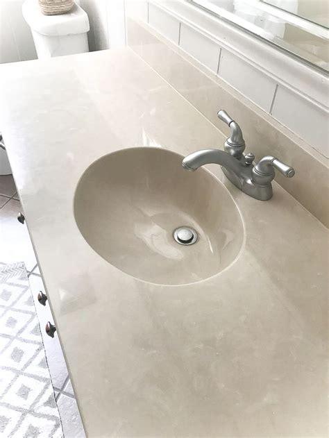 diy painted bathroom sink countertop diy remodeling