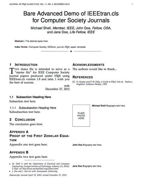 ieee transactions journals latex templates engineering