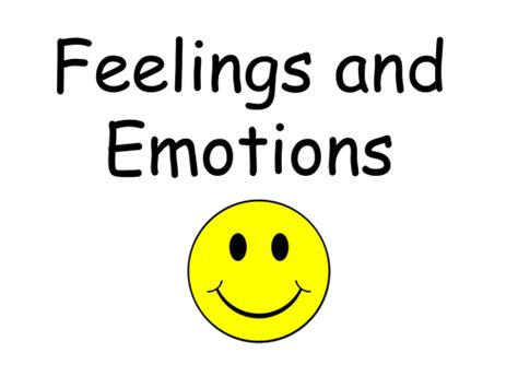 Emotions And Feelings Powerpoint By Lukeliamlion  Teaching Resources