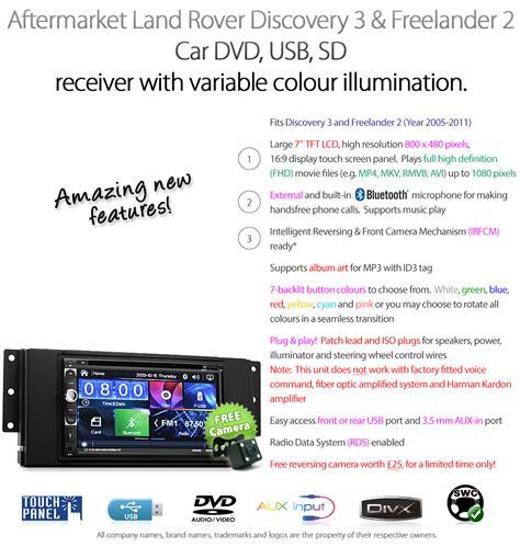 Land Rover Discovery Freelander Car Dvd Player Usb