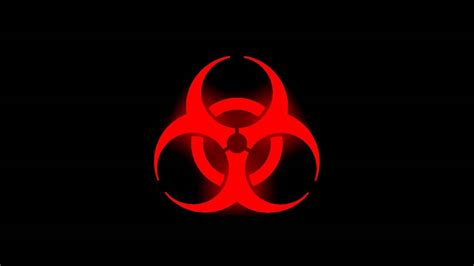 Cool Yin Yang Pictures Glowing Biohazard Symbol Red Youtube