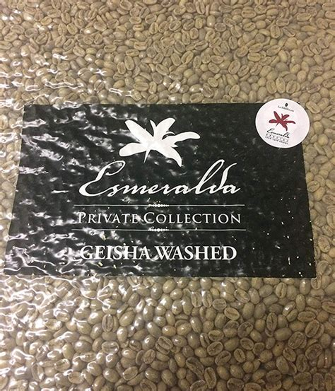 It is widely known for its unique flavor profile of floral and sweet notes, its high selling price. La Esmeralda Geisha   Green Coffee Beans HK   Specialty Coffee   Roasted   Geisha   Decaf