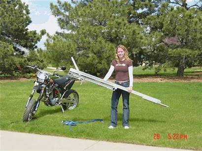 Rack Motorcycle Tilt Carrier Aluminum Carriers Hitch