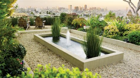 landscaping ideas with sunset