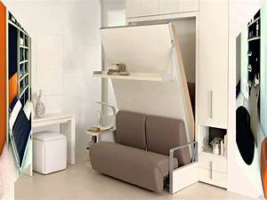 Modern Murphy Bed Decoration for an Apartment - MidCityEast