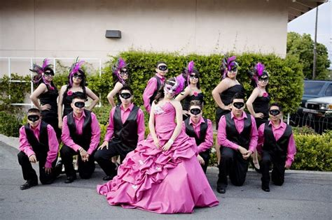 Masquerade Themed Quinceanera  Love This Picture