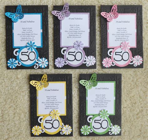handmade birthday invitations handmade invites