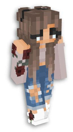 skins  girls images  pinterest minecraft skins mc skins  minecraft pe