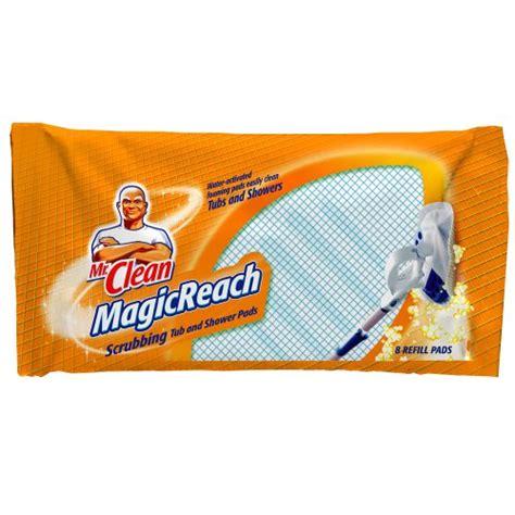 Mr Clean Bathroom Cleaner Pads by Mr Clean Magic Reach Scrubbing Tub And Shower Pads 8