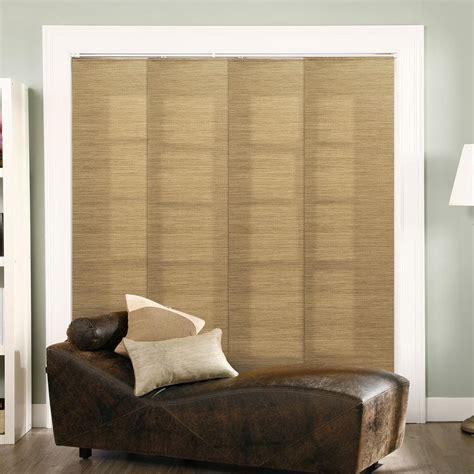 sliding panel blinds chicology adjustable sliding panel cut to length