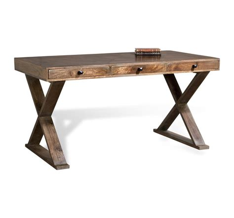 unfinished oak writing desk salers contemporary french gray solid wood writing desk