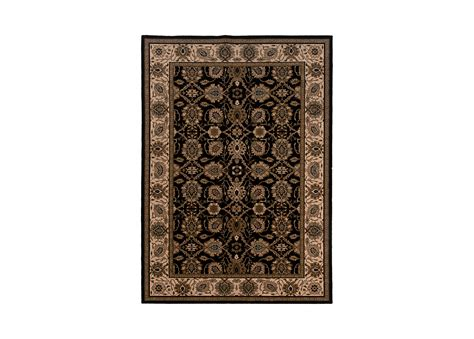Patterned Area Rugs by Sultanabad Area Rug Black Ivory Traditional Patterned Rugs