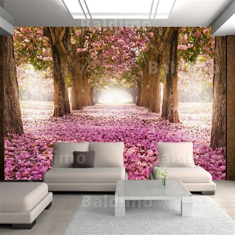 Tapeten Wohnzimmer Blumen by Vlies Fototapete 3 Farben Zur Auswahl Tapeten Blumen
