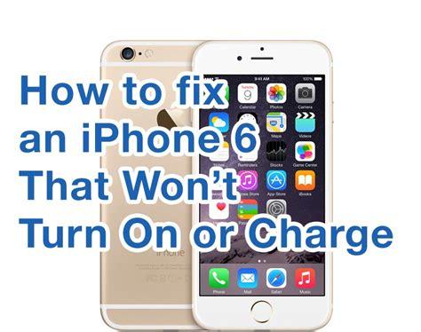 fix iphone  wont turn  mac expert guide