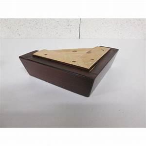 Canapé Pied Bois : pied bois forme l l 160mm l 160mm h 50mm ~ Melissatoandfro.com Idées de Décoration