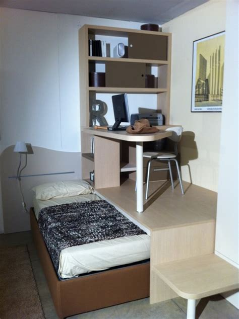 chambre avec estrade création d 39 espace estrade et bureau moderne chambre d