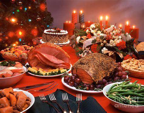thanksgiving spread photograph  vance fox