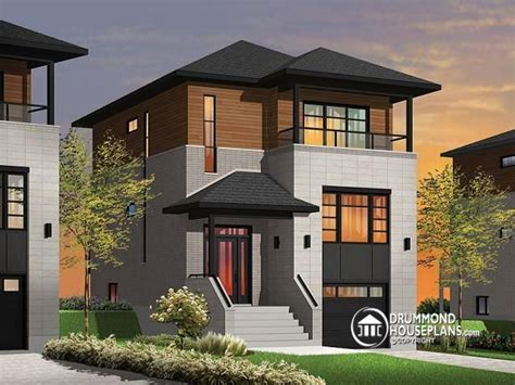 narrow lot home plans narrow lot homes with porches contemporary narrow lot house plans modern house plans for narrow