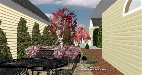 franklin tn courtyard landscape design nashville