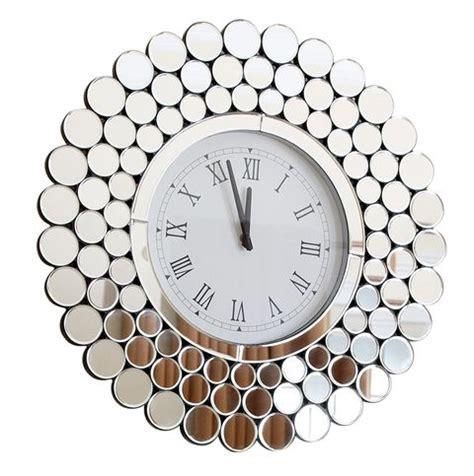 clock modern clocks mirror houzz round unique wallclock stylish cool elledecor oversized minimalist center living google