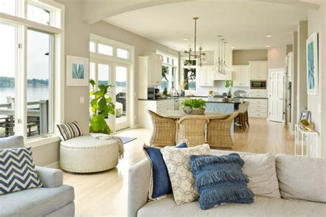 Ideas For Open Living Room And Kitchen by How To Make Your Home Look Expensive On A Budget