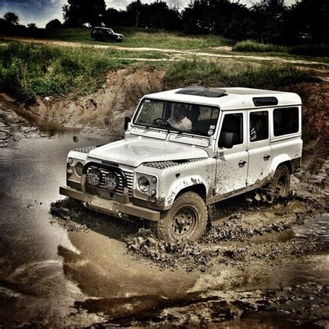 land rover water defender 4x4 land rover cool mud mudder action water