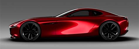 mazda rx vision rotary sports car concept  mazda