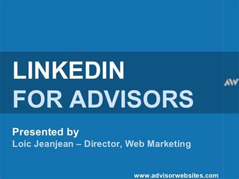 Linkedin Webinar For Financial Services